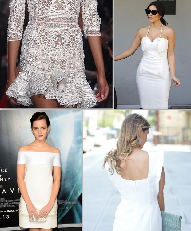 Little White Dress Trend
