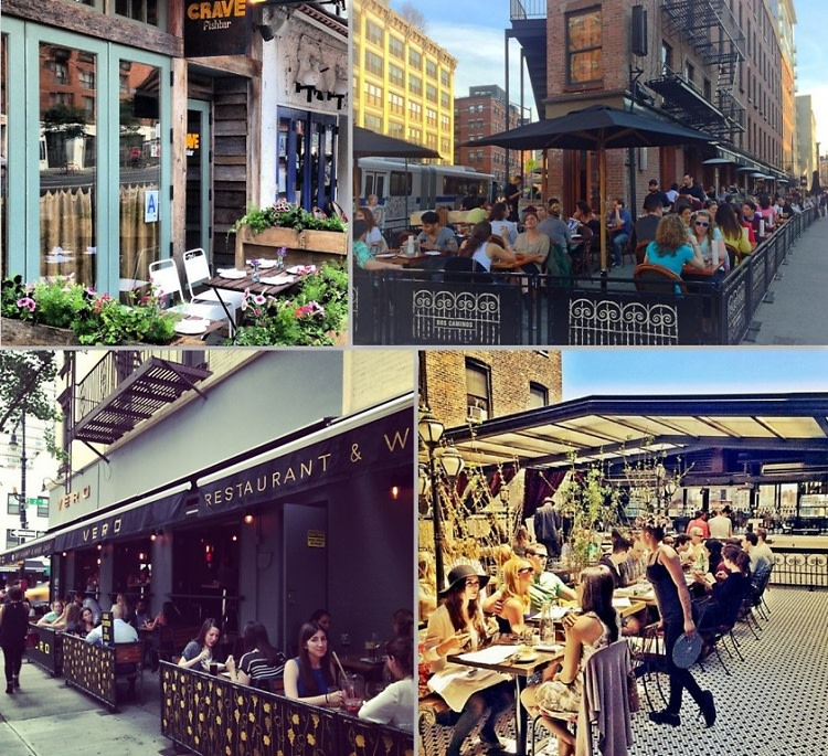 Outdoor NYC Happy Hours