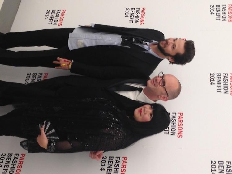 Chris Benz, Simon Collins, Anna Sui