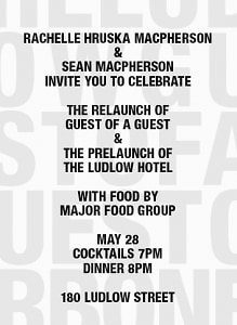 Guest of a Guest Relaunch Party