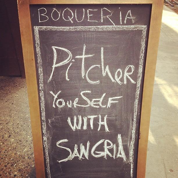 Boqueria, Sangria, SoHo, NYC