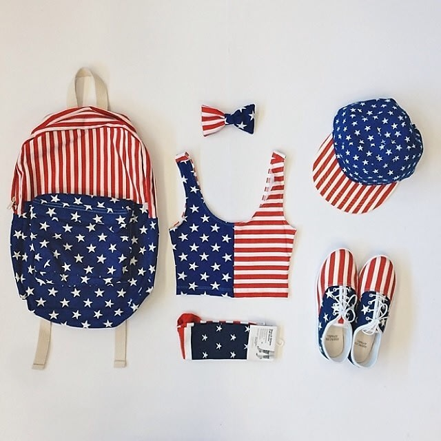 American Apparel, 4th of July, sale