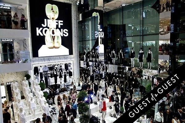 Jeff Koons x H&M Launch Party