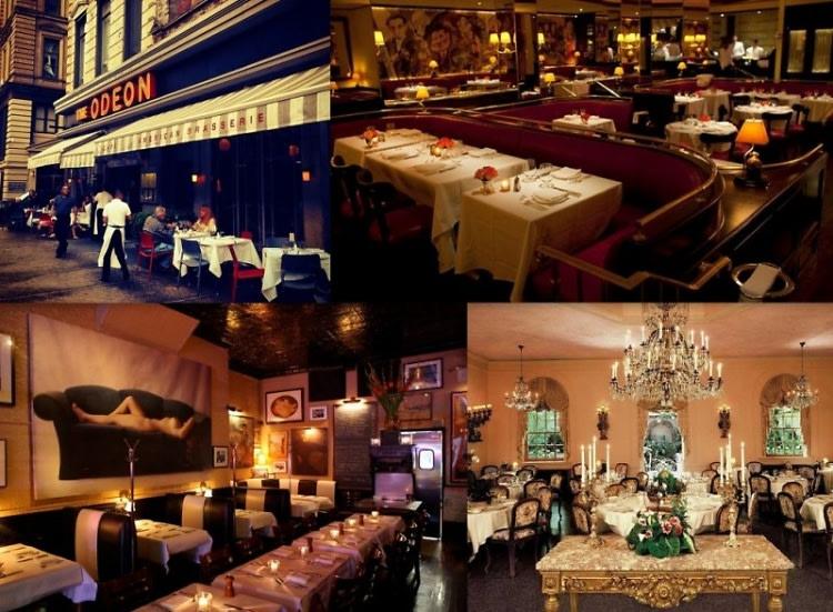 Classic New York Restaurants