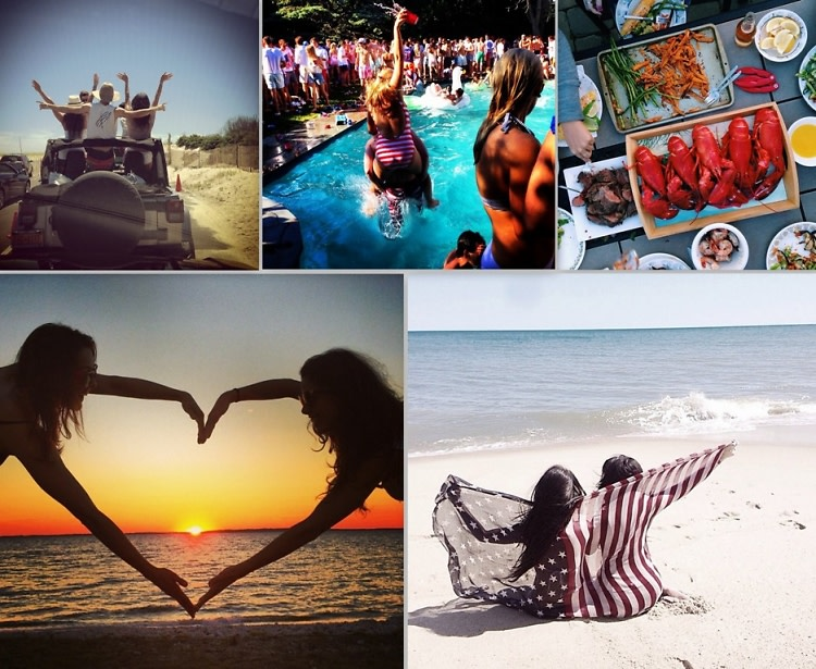 4th of July Hamptons Instagram Round Up