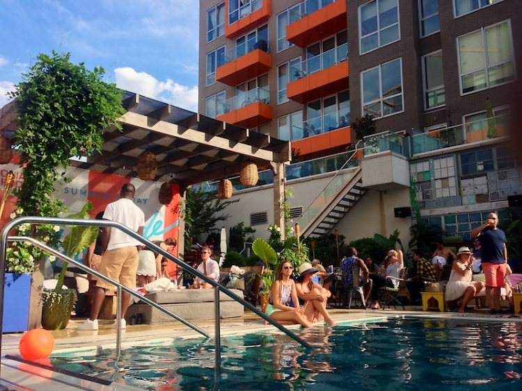 The Chia Co. hosts Summer Friday Poolside