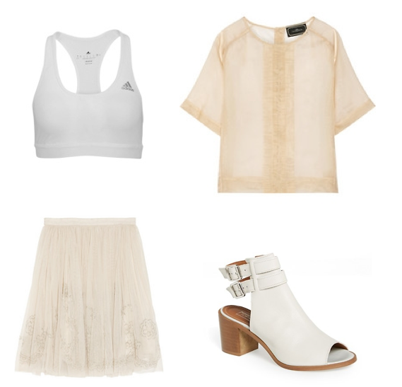 Mesh Top Outfit 1