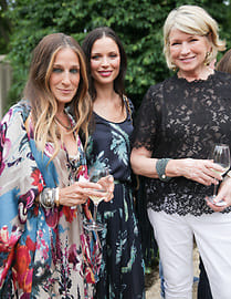 Martha Stewart, Georgina Chapman, Sarah Jessica Parker
