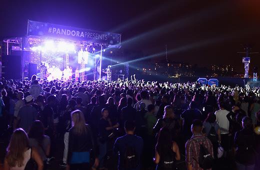 Pandora Presents Iggy Azalea, Rita Ora, and Magic!