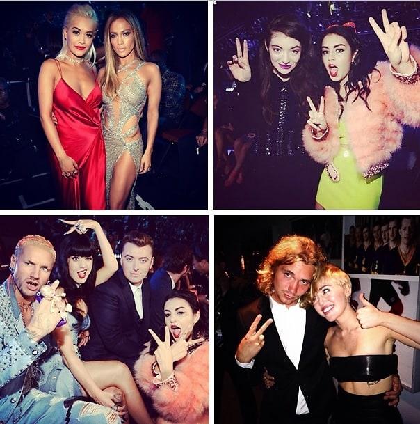 2014 VMAs Instagram Round Up