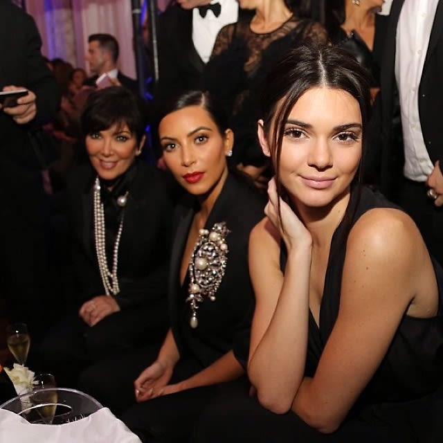 Kris Jenner, Kim Kardashian, Kendall Jenner