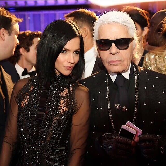 Leigh Lezark, Karl Lagerfeld