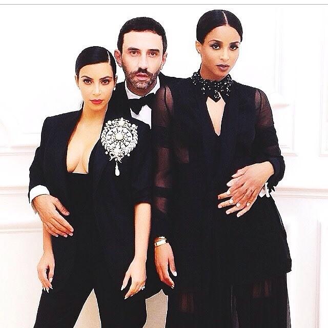 Kim Kardashian, Riccardo Tisci, Ciara