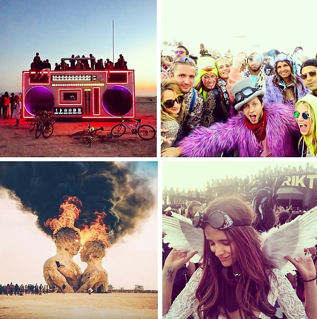 Instagram Round Up: The Best Photos From Burning Man 2014