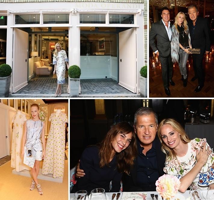 The Moda Operandi London Launch Hosted By Lauren Santo Domingo