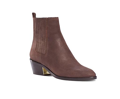 Michael Kors Patrice Nubuk Leather Ankle Boot