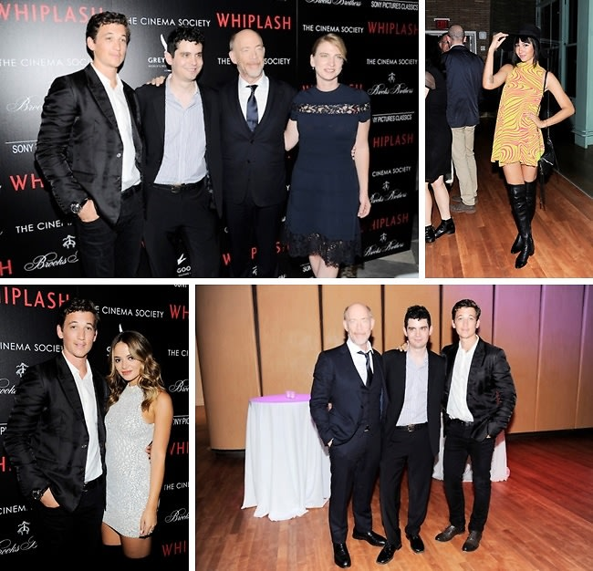 "Miles Teller Attends The Cinema Society & Brooks Brothers' Screening Of ""Whiplash"""