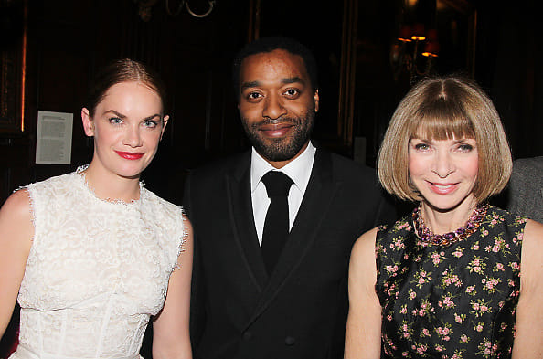 Ruth Wilson, Chiwetel Ejiofor and Anna Wintour