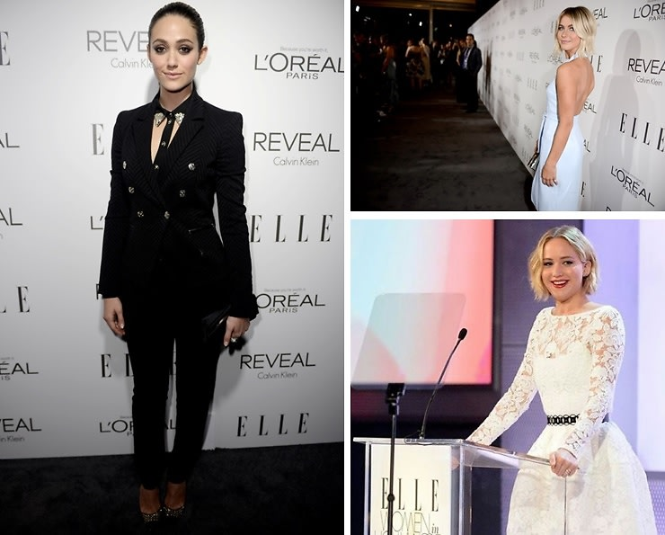 Best Dressed Guests: ELLE's 21st Annual Women In Hollywood Celebration