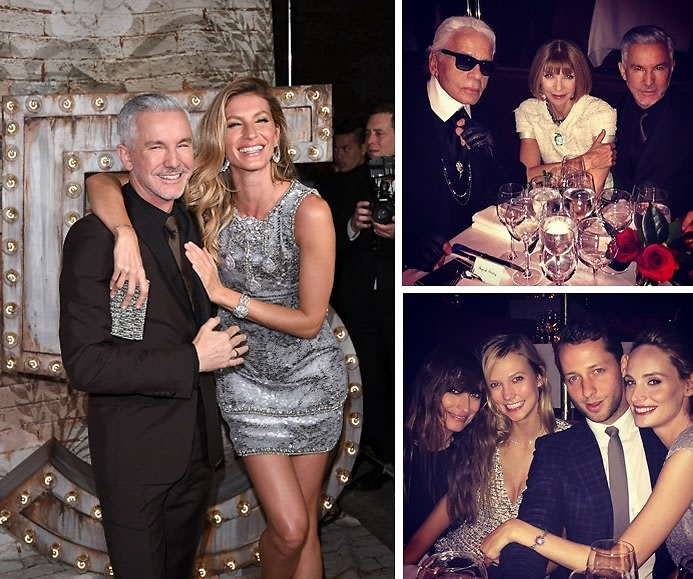 Inside The Chanel Dinner Celebrating Baz Luhrmann's 'No.5' Campaign Film