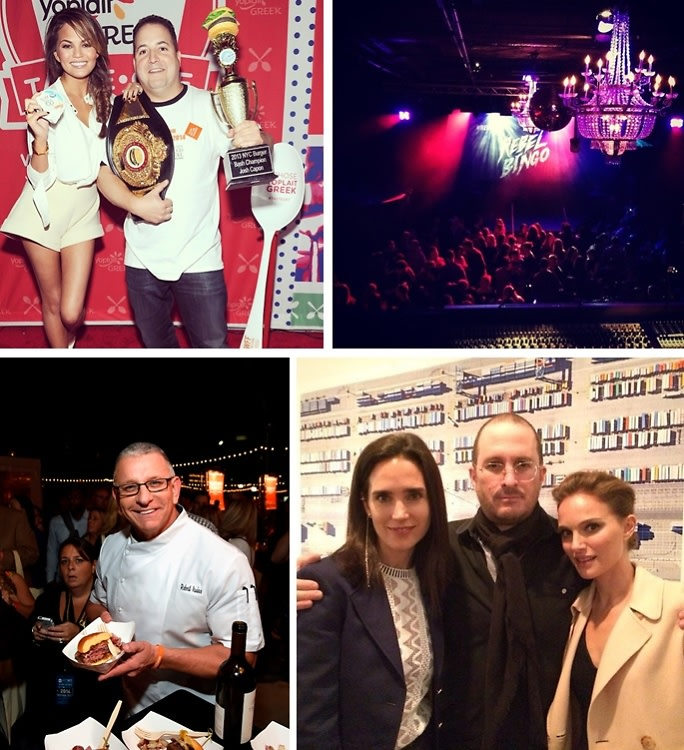 Last Night's Parties: Chrissy Teigen Indulges At The New York City Wine & Food Fest & More!