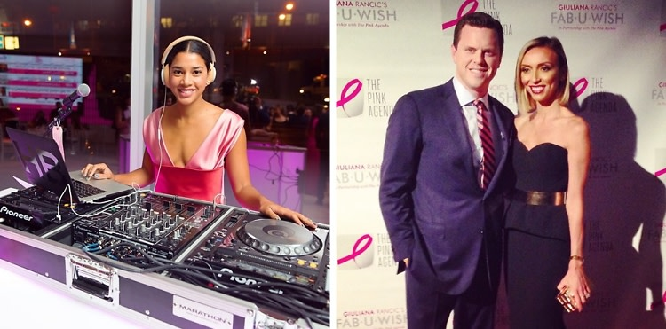 Giuliana Rancic & Hannah Bronfman Attend The Pink Agenda Annual Gala