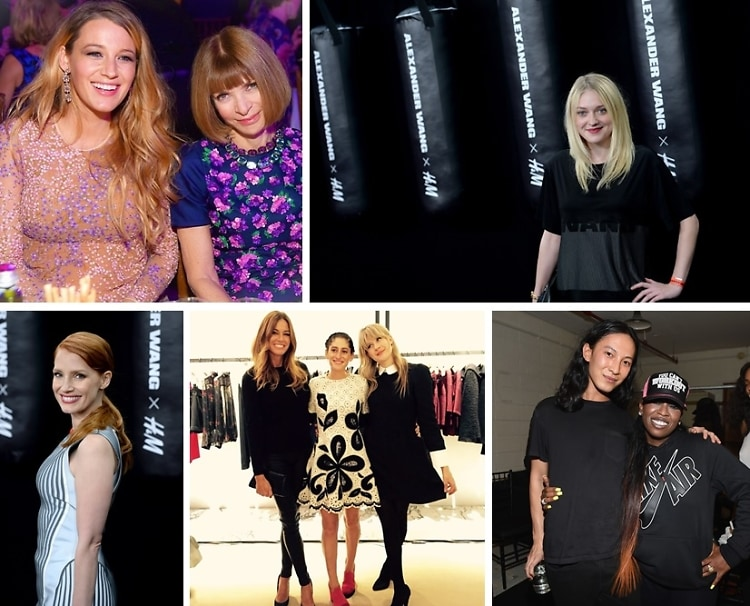 Last Night's Parties: Dakota Fanning, Jessica Chastain & Missy Elliott Attend The Alexander Wang x H&M Launch Party & More!