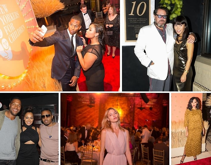 Last Night's Parties: Selita Ebanks, Estelle & Victor Cruz Attend The New Yorkers For Children 15th Annual Fall Gala & More!