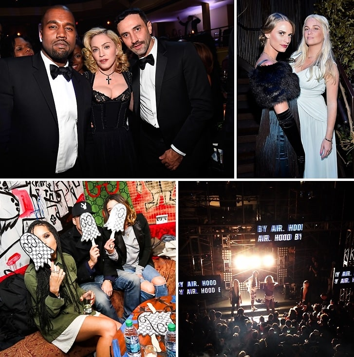 Last Night's Parties: Madonna, Kanye West & Riccardo Tisci Attend The Keep A Child Alive 11th Annual Black Ball & More!