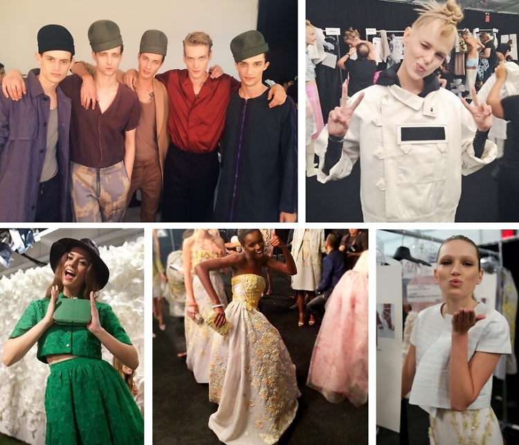 Model Watch: Behind The Scenes With Fashion's Freshest Faces