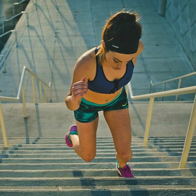 stair lunges