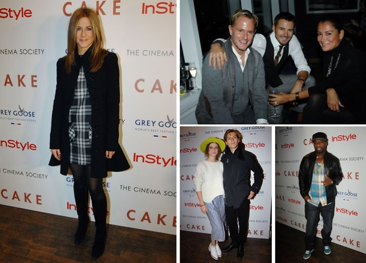 "Jennifer Aniston Attends The Cinema Society Screening Of ""Cake"""