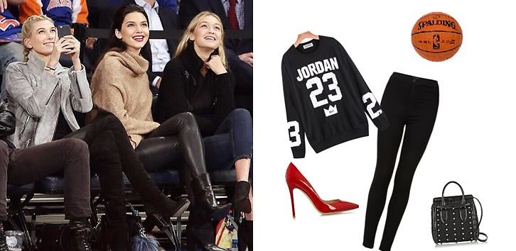 Get The Look: Celebrity Courtside Style