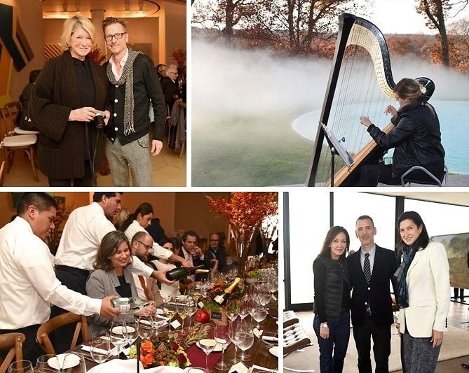 Martha Stewart Helps Celebrate Glass Houses 65th Birthday
