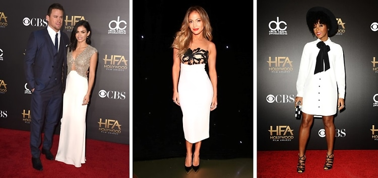 Best Dressed Guests At The Hollywood Film Awards