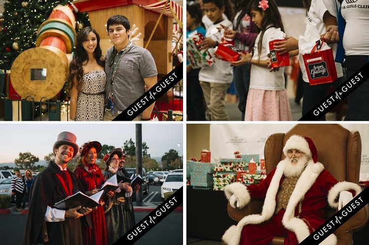 The Shops At Montebello Presents Santa's Arrival