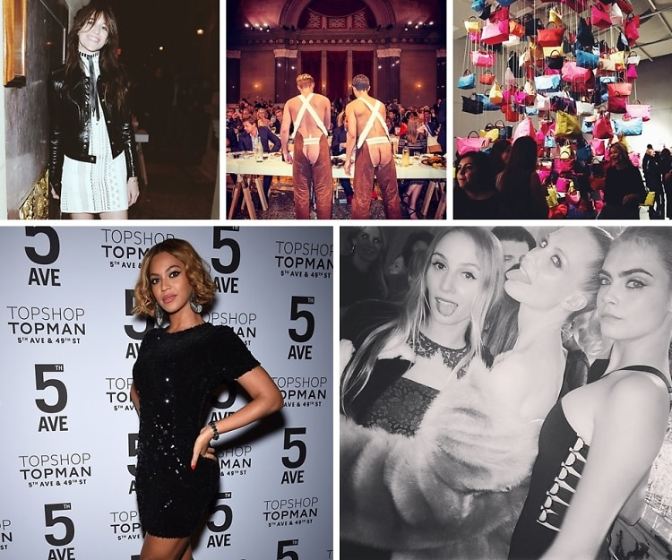 Last Night's Parties: Beyonce & Cara Delevingne Celebrate The Topshop/Topman 5th Avenue Flagship Opening & More!