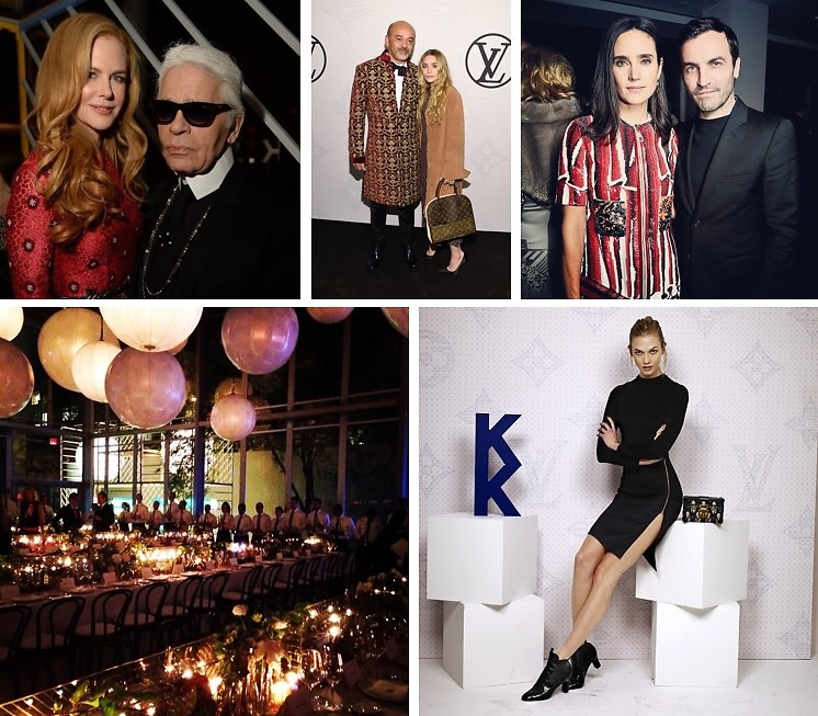 Karl Lagerfeld, Nicole Kidman & More Celebrate The Monogram With Louis Vuitton