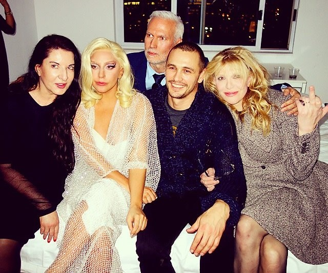 """The Interview"" Gets Cancelled, James Franco Parties Away The Pain With Lady Gaga & Courtney Love"