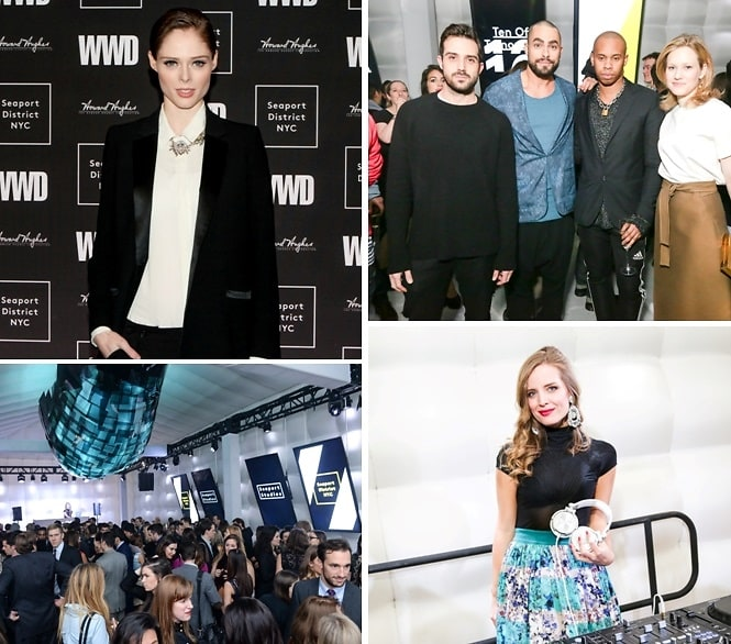 Coco Rocha Helps Celebrate The 2015 WWD Ten Of Tomorrow Honorees