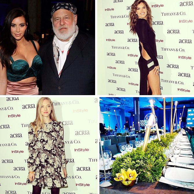 Kim Kardashian Helps Honor Bruce Weber & Larry Kramer At The 19th Annual ACRIA Holiday Dinner