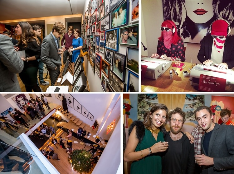 Princess Eugenie Parties With Dustin Yellin & Peter Marino At The ArtList Christmas Carnival