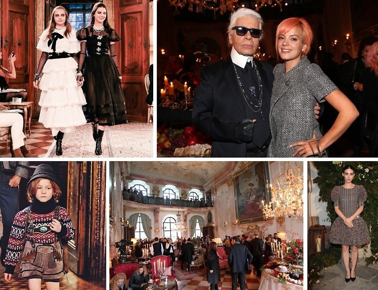 Cara Delevingne & Kendall Jenner Take To Salzburg For Chanel's Metiers d'Art Show