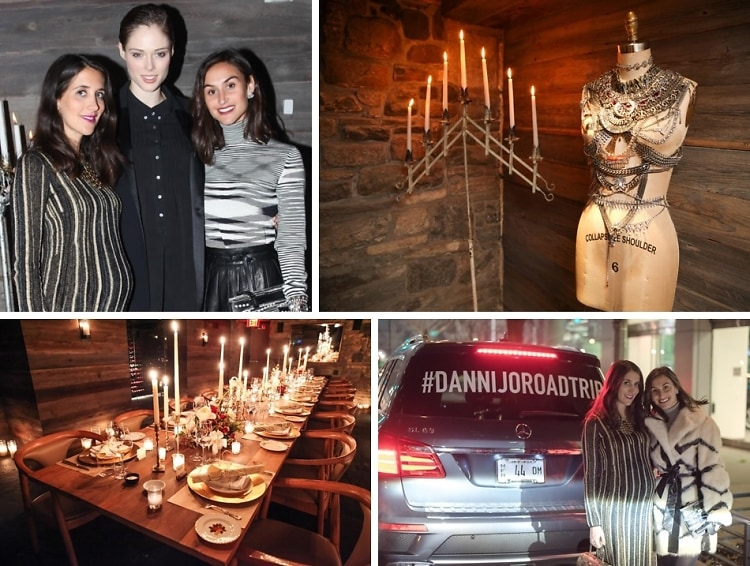 Coco Rocha Glows At The DANNIJO & Mercedes-Benz Road Trip Dinner