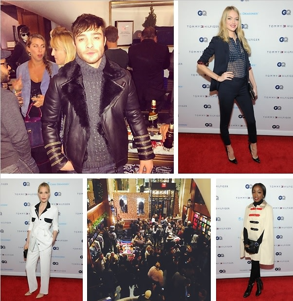 Ed Westwick & Lindsay Ellingson Celebrate For A Cause At The GQ Men Of New York Party