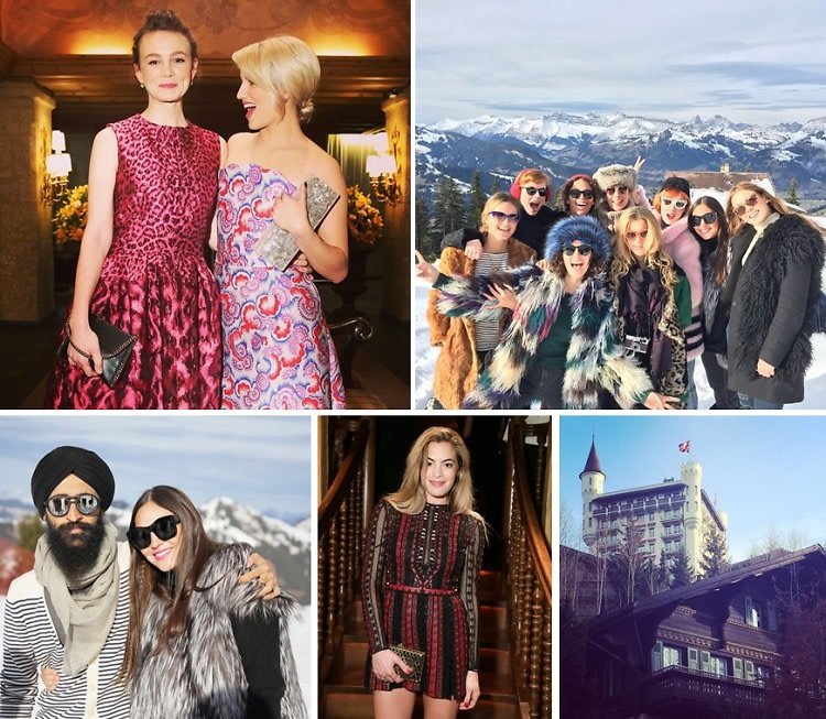 Carey Mulligan & Dianna Agron Celebrate ASMALLWORLD's 10th Anniversary At The 2014 Gstaad Winter Weekend