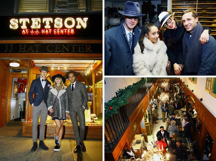Stetson and JJ Hat Center Celebrate Old New York with Just Another, One Dapper Street, and The Metro Man