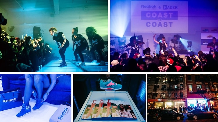 Kiesza Performs At The Fader x Reebok Classic #CoastToCoast Event