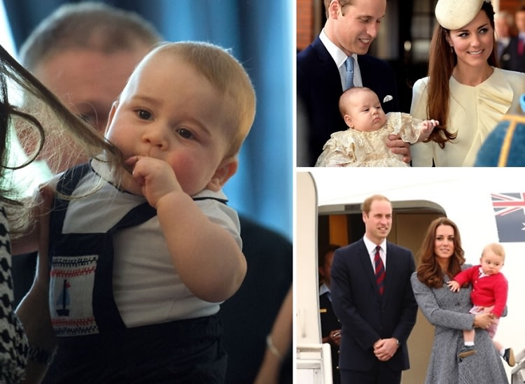 Prince William & Duchess Kate Arrive In NYC Without Prince George, But We'll Dote On Him Anyway