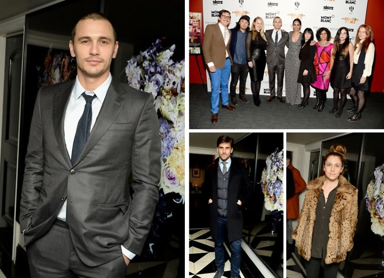 """James Franco Attends The Screening Of His New Film """"The Color Of Time"""""""